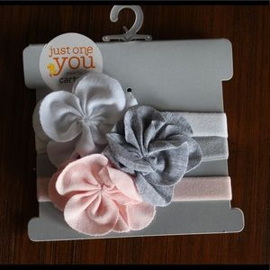 Carter's Just for You - 3pk Headbands - NWT!
